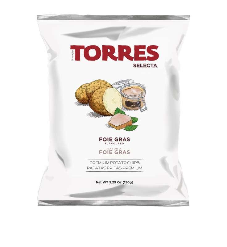 Chips saveur foie-gras, Torres (150 g)