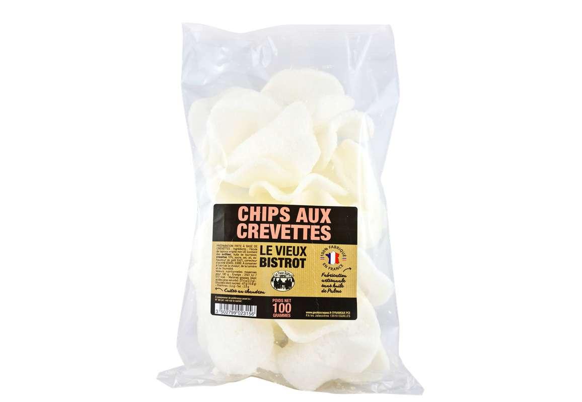 Chips aux Crevettes, Le Vieux Bistrot (100 g)