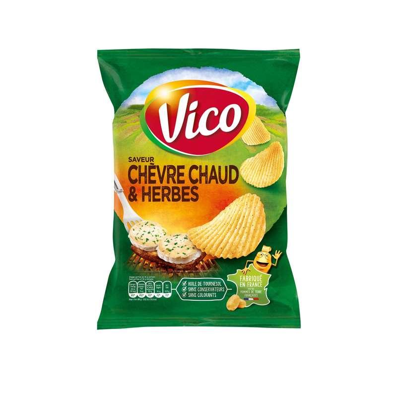 Chips chèvre chaud et herbes, Vico (120 g)