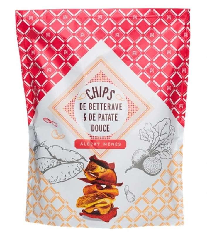 Chips de betterave et de patate douce, Albert Ménès (70 g)