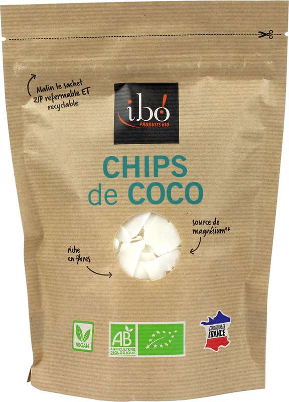Chips de coco, Ibo (80 g)