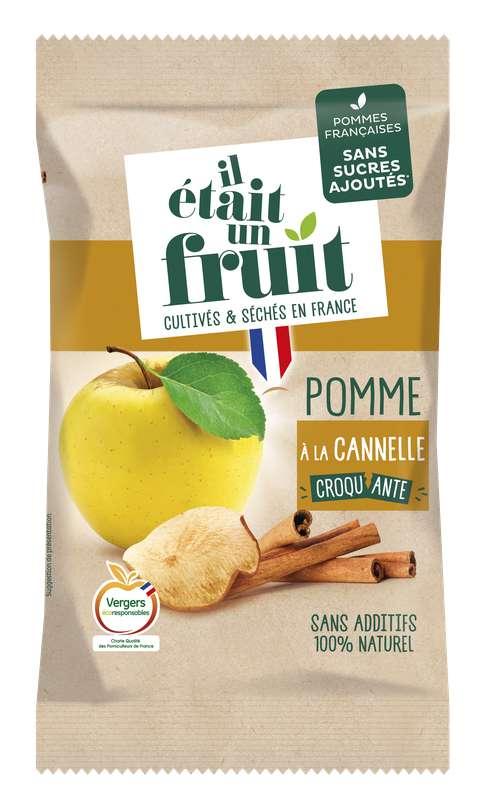 Chips de Pomme Cannelle Croquante, Il Etait Un Fruit (60 g)