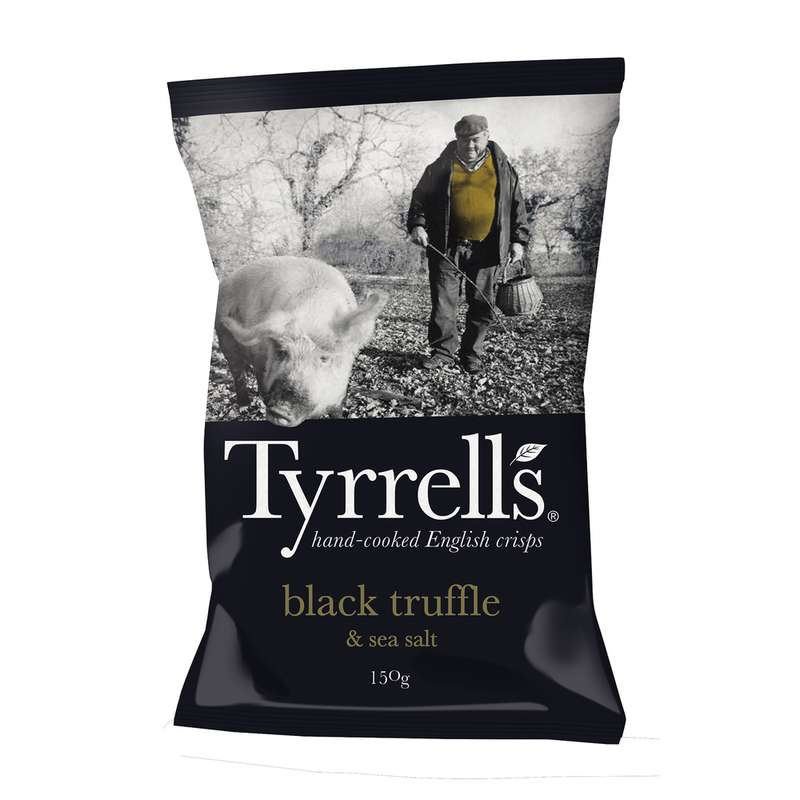 Chips à la truffe noire et au sel de mer, Tyrrell's (150 g)