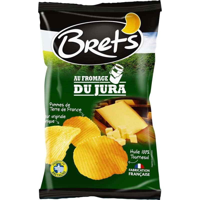 Chips ondulées au fromage du Jura, Bret's (125 g)