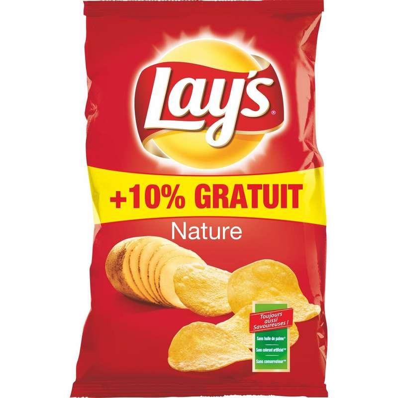 Chips nature, Lay's OFFRE 10% GRATUIT (330 g)