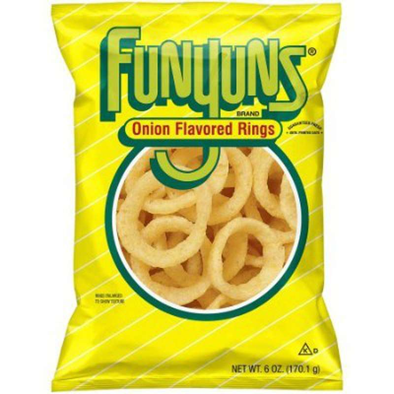 Chips onion rings, Funyuns (21,2 g)