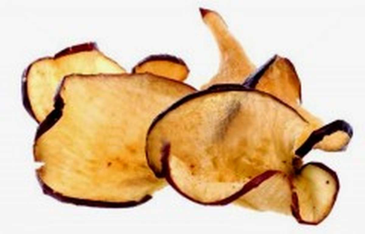 Chips de pommes séchées BIO, Rapunzel (75 g)