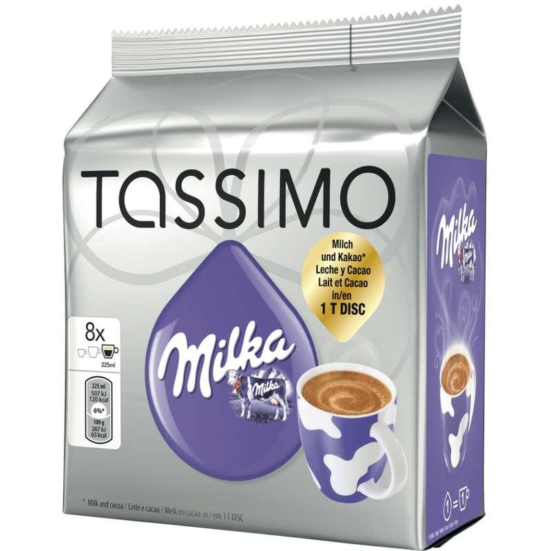 Chocolat dosette Milka Tassimo (x 8, 240 g)