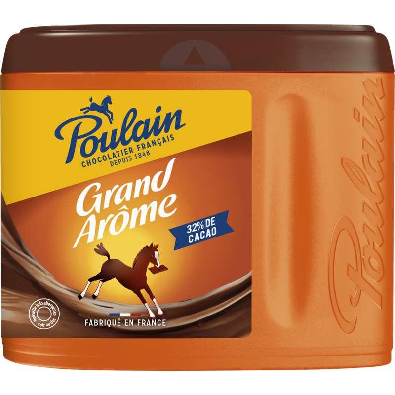 Chocolat en poudre grand arôme, Poulain (450 g)