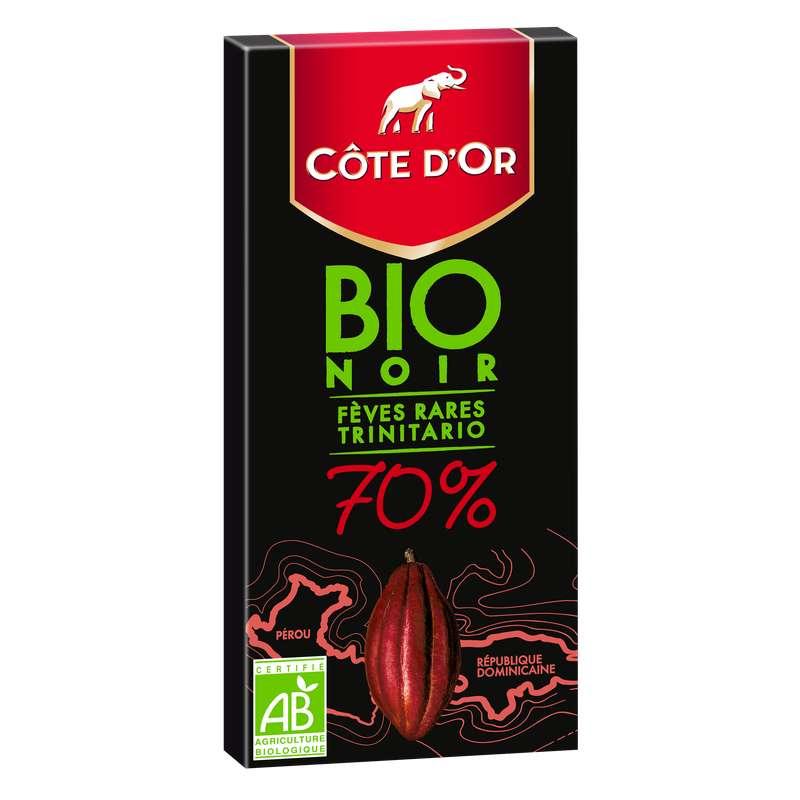 Chocolat noir 70% BIO, Côte d'Or (90 g)