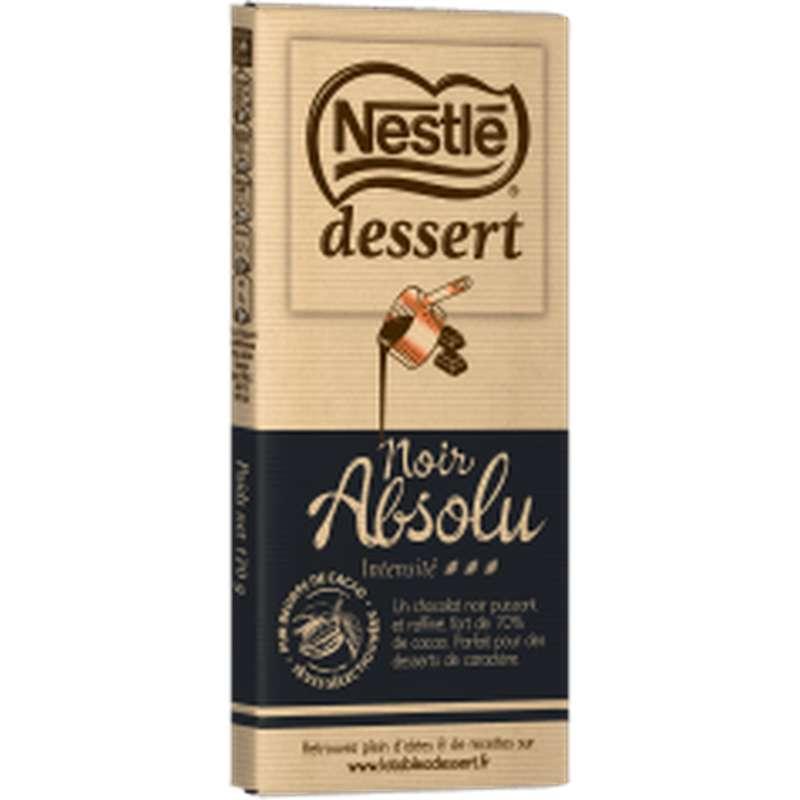 Chocolat noir absolu 70%, Nestlé dessert (170 g)