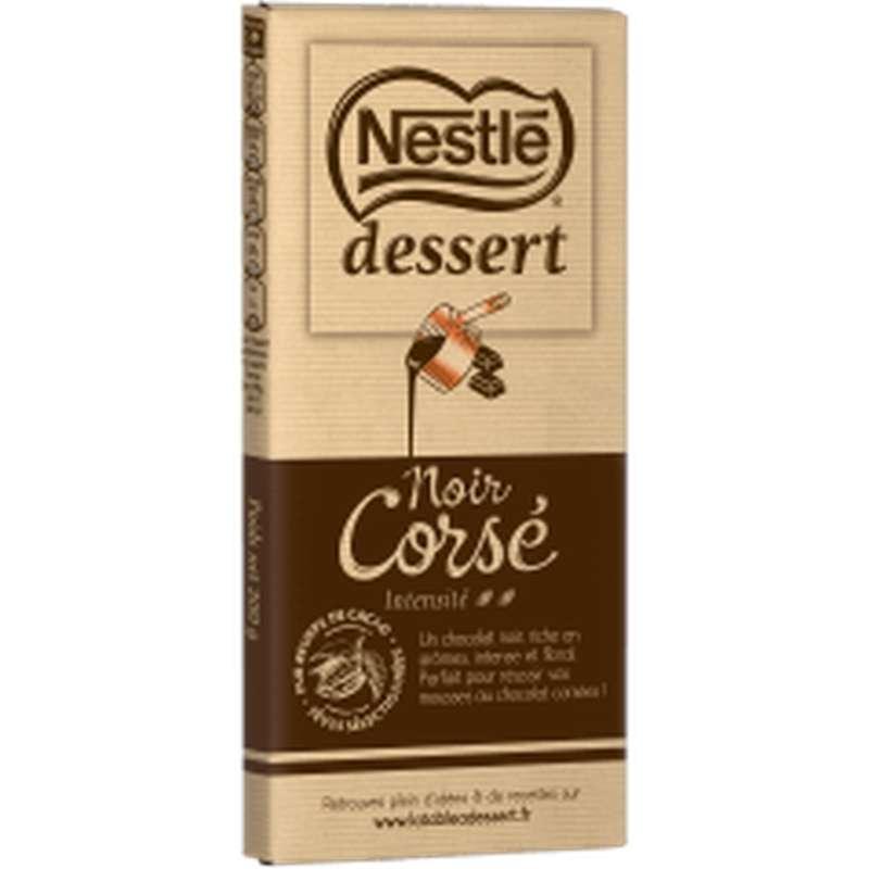 Chocolat noir corsé 64%, Nestlé dessert (200 g)