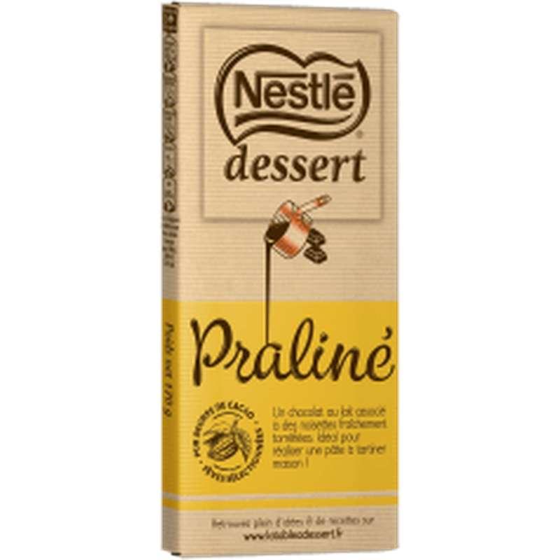Chocolat praliné à pâtisser, Nestlé dessert (170 g)