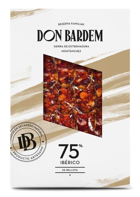 Chorizo de Bellota 75% Ibérico, Don Bardem (80 g)