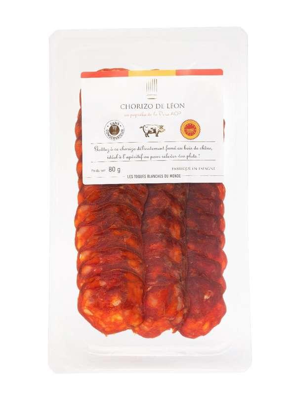Chorizo de Léon, Les Toques Blanches du Monde (80 g)