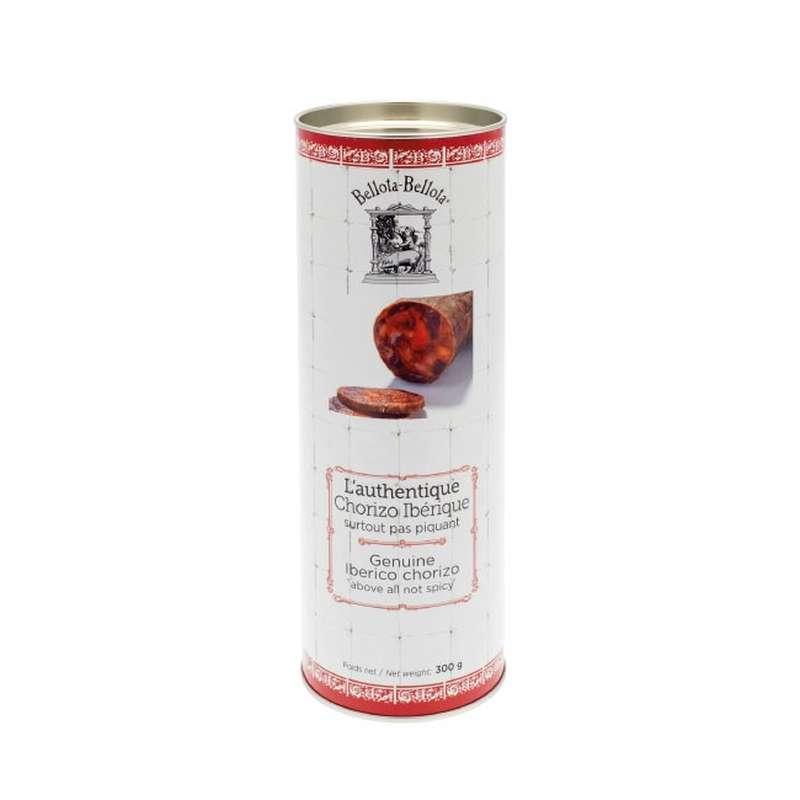 Chorizo ibérique à découper, emballage tube, Bellota-Bellota (300 g)