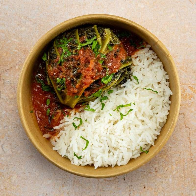 Chou farci, riz à la tomate (300 g)
