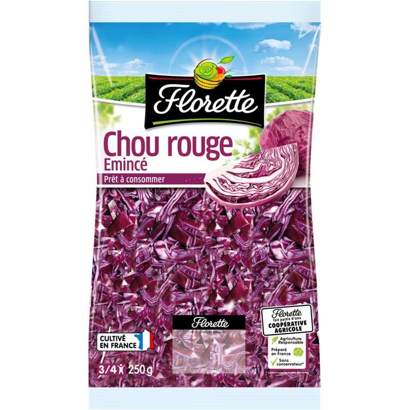 Chou rouge râpé, Florette (250 g)