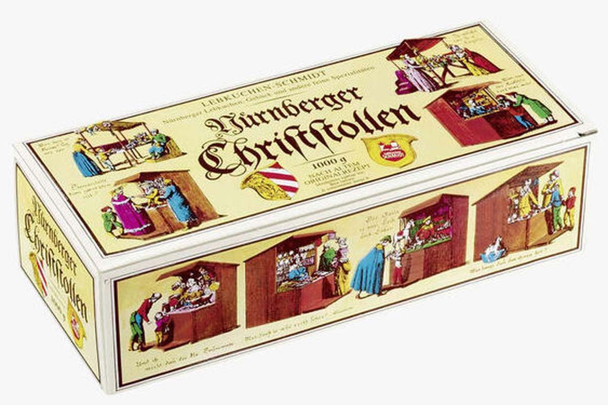 Christstollen - Gâteau de Noël, Schmidt (1 kg)