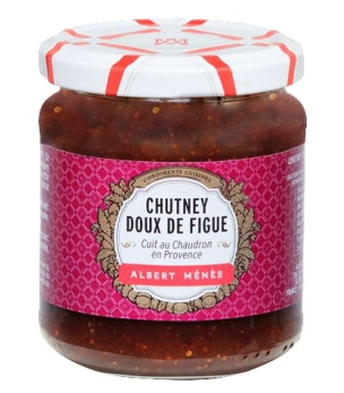 Chutney doux de Figue, Albert Ménès (220 g)