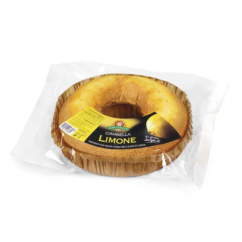 Ciambella au citron, Gecchele (400 g)