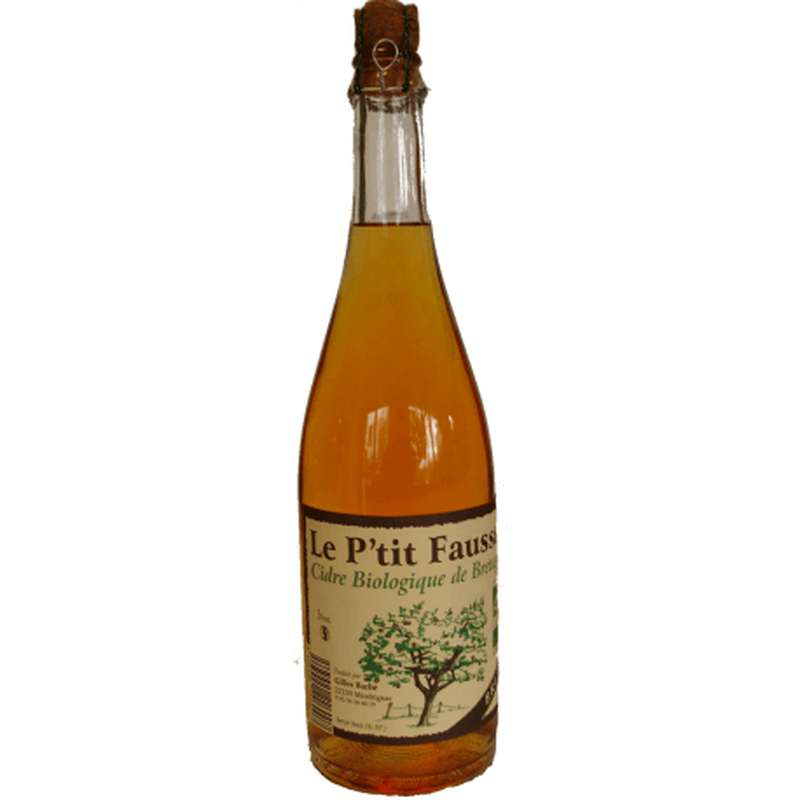 Cidre brut BIO, Le Ptit Fausset (75 cl)