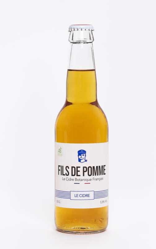 Cidre Brut Le Sauvage BIO, Fils de Pomme (33 cl)