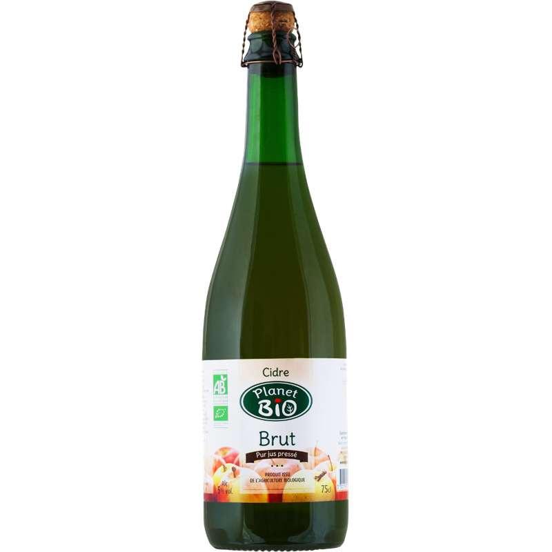 Cidre brut BIO, Planet Bio (75 cl)