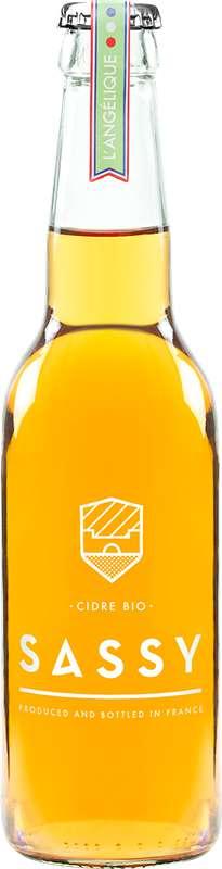 Cidre L'Angélique BIO 4°, Sassy (33 cl)