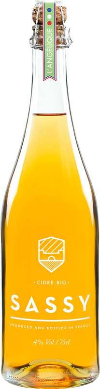 Cidre L'Angélique BIO 4°, Sassy (75 cl)
