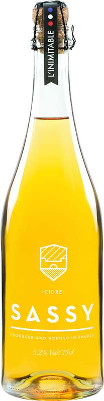 Cidre L'Inimitable 5,2°, Sassy (75 cl)