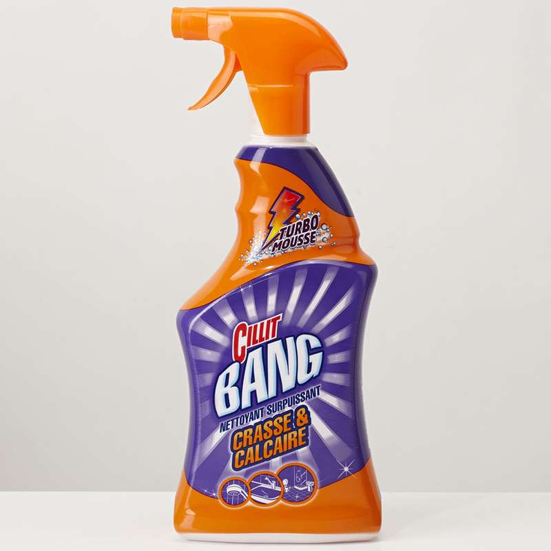 Nettoyant pistolet crasse et calcaire, Cillit Bang (750 ml)