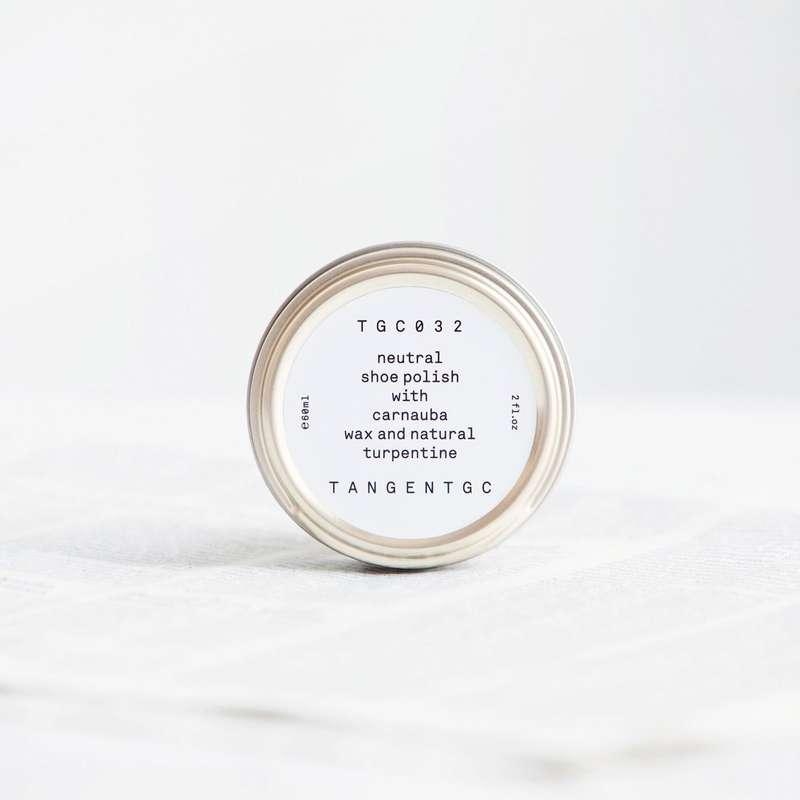 Cirage neutre chaussures, Tangent GC (60 ml)