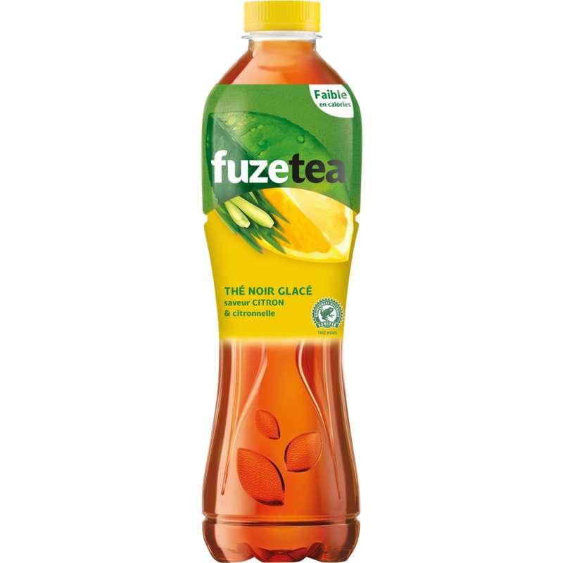Fuze Tea au citron et à la citronnelle (1.25 L)