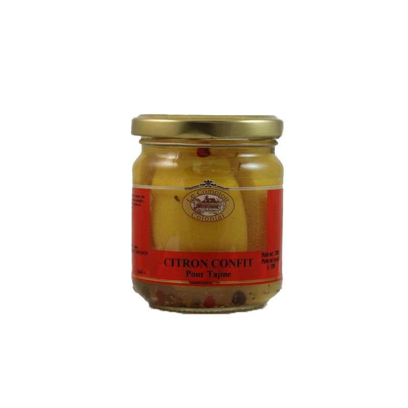 Citron confit aux épices pour tajine, Le Comptoir Colonial (200 g)