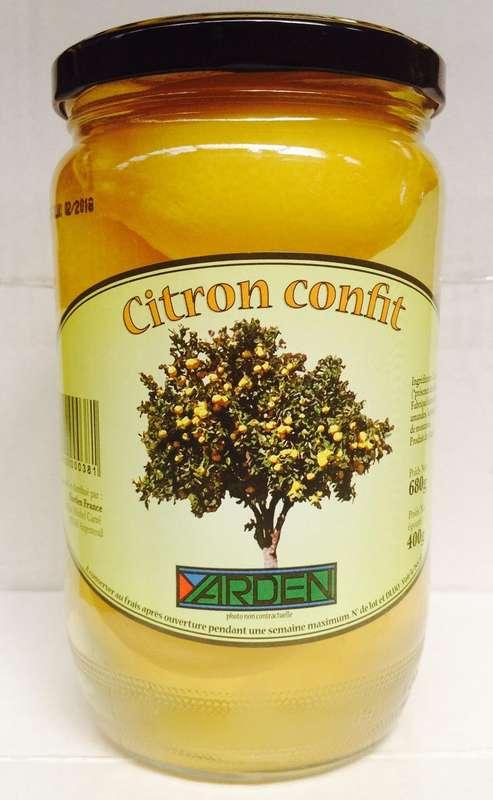 Citron confit beldi, Yarden (420 g)