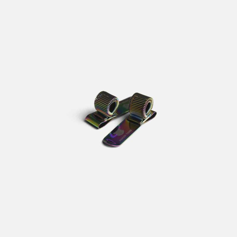 Clip Porte-Stylo Iridescent, Papier Tigre