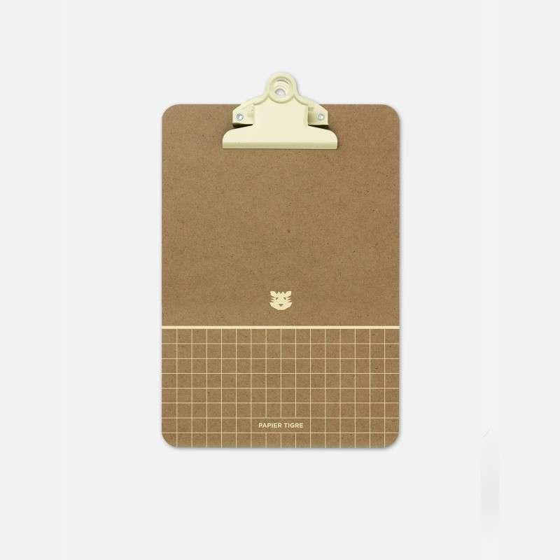 Clipboard Note, Papier Tigre