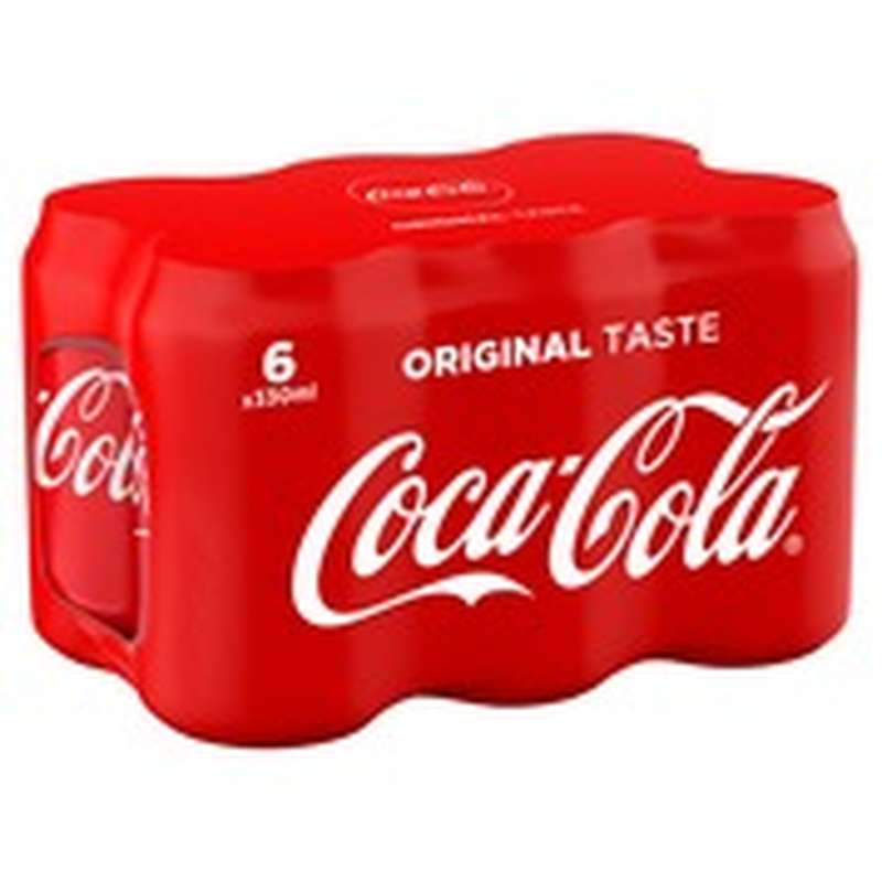 Pack de Coca-Cola (6 x 33 cl)