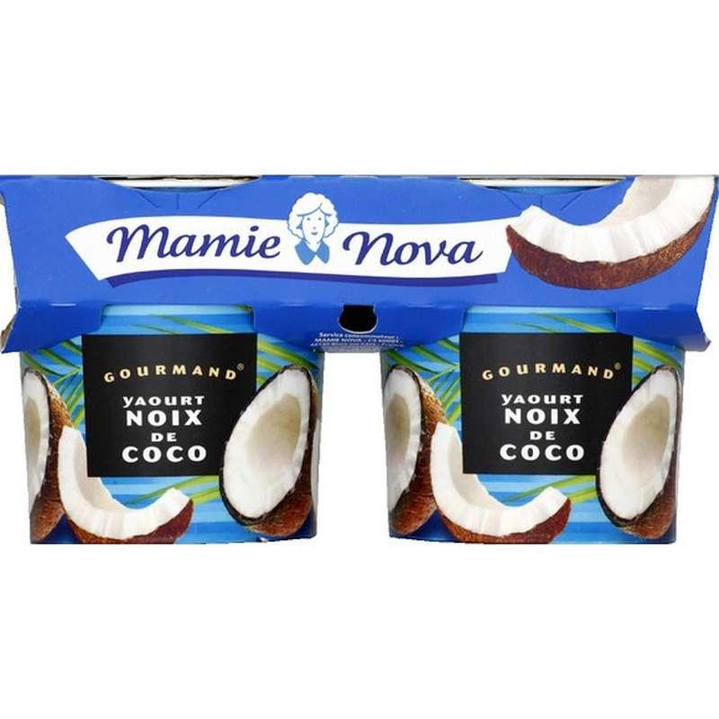 Yaourt Gourmand Noix de Coco, Mamie Nova (2 x 150 g)