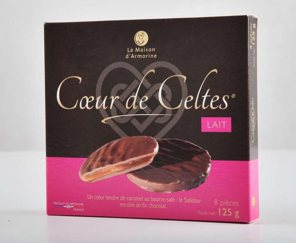 Cœur de Celte chocolat au lait, La Maison d'Armorine (125 g)