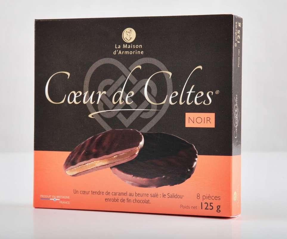 Cœur de Celte chocolat noir, La Maison d'Armorine (125 g)