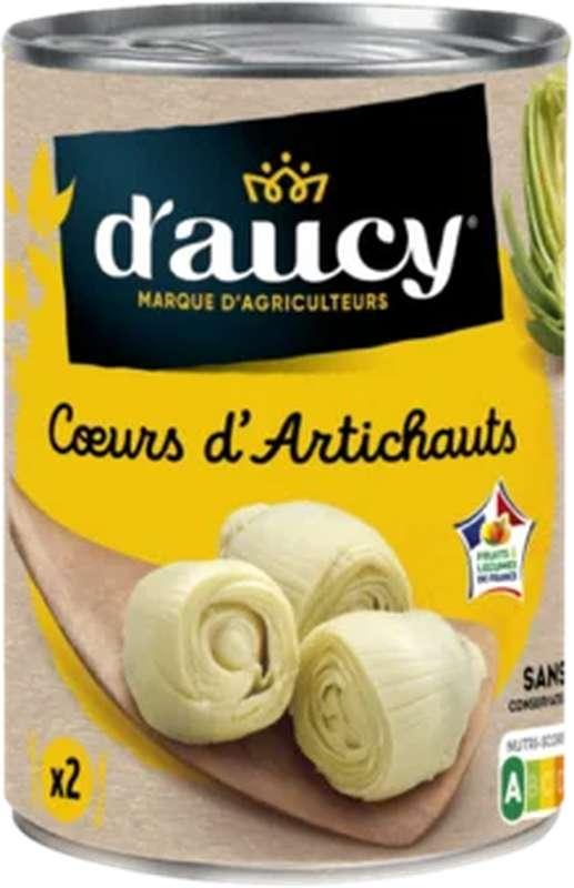 Coeurs d'artichauts, D'aucy LOT DE 2 (2 x 240 g)