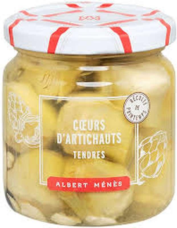 Cœurs d'artichauts à l'ail, Albert Ménès (120 g)