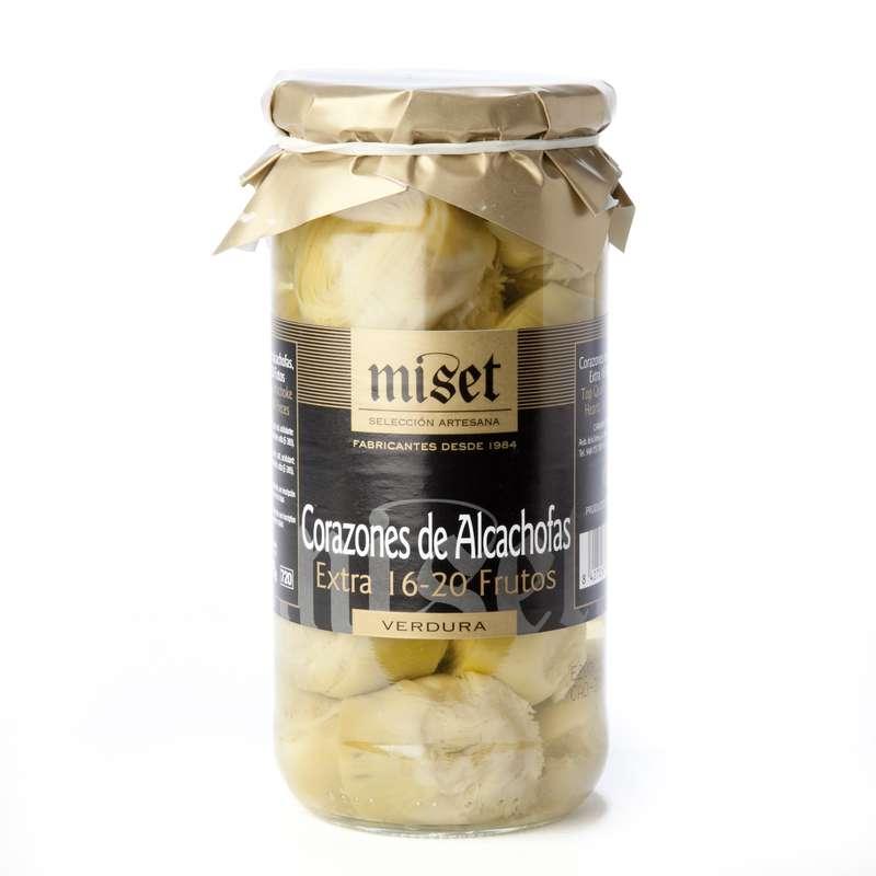 Coeurs d'artichauts, Miset (405 g)