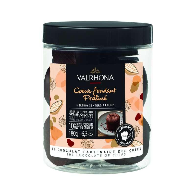 Coeurs fondants Praliné, Valrhona (180 g)