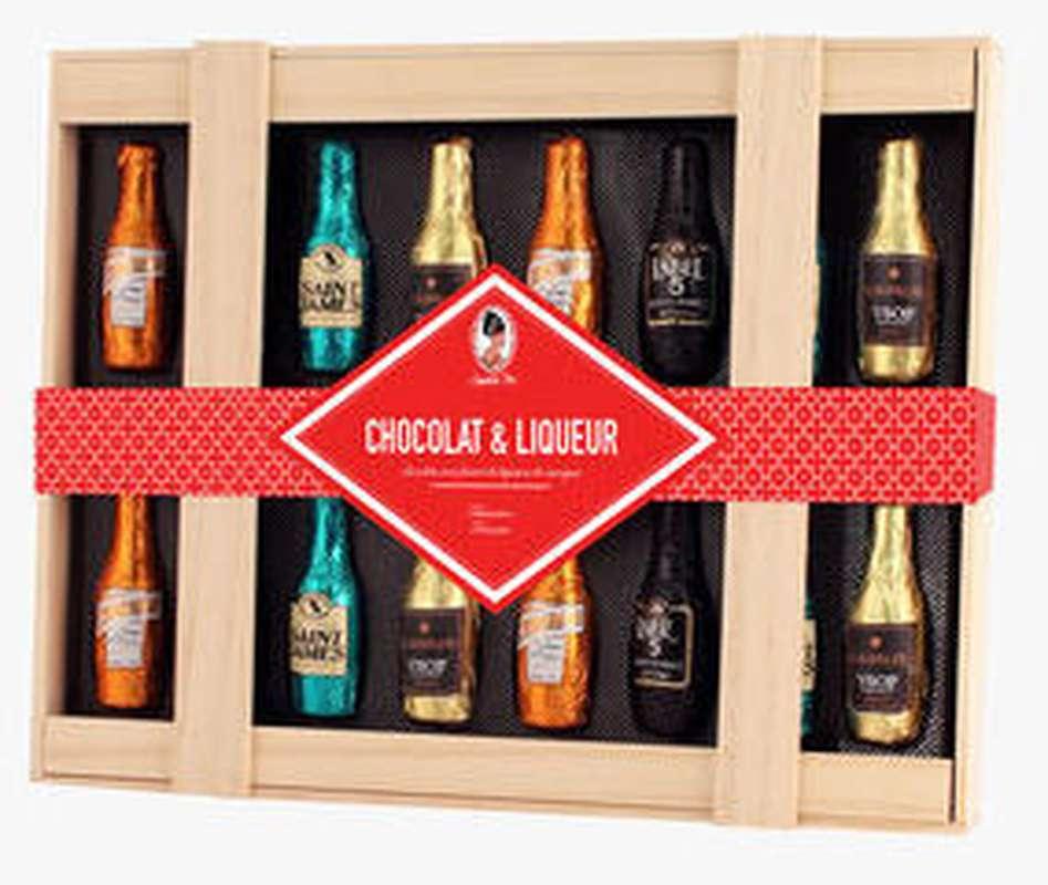 Coffret Chocolats & liqueurs, Sophie M (205 g)