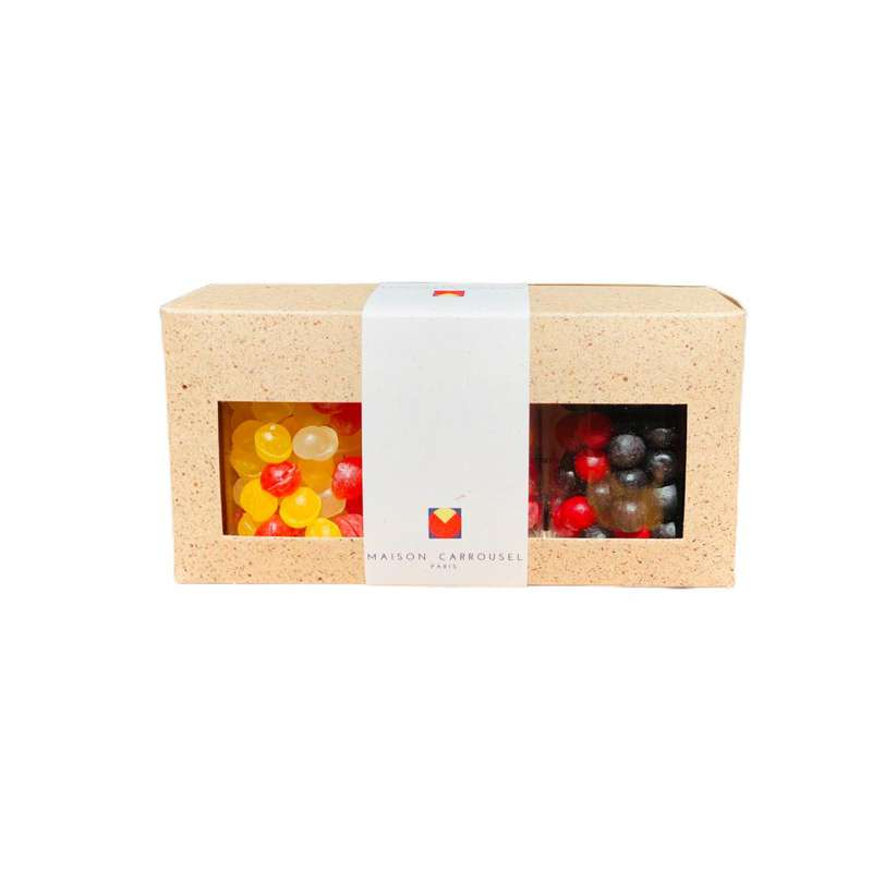 Coffret de 3 Bonbonnières, Maison Carrousel (x 3, 450 g)