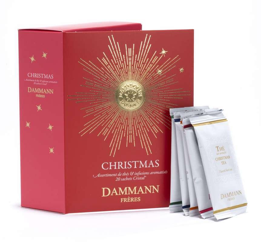Coffret de thés et infusions de Noël, Dammann Frères (x 20 sachets)
