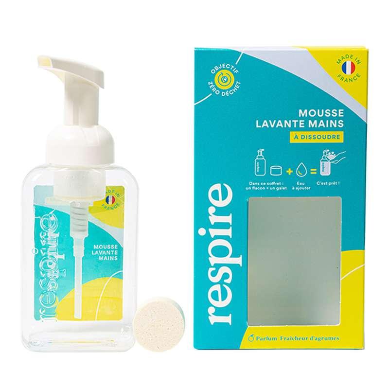 Coffret Découverte Mousse lavante mains, Respire (10 gr)